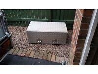Alloy toolbox aluminium treadplate trailer van truck