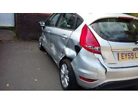 2009-FORD-FIESTA-1.4 ZETEC-DAMAGED-REPAIRABLE-SALVAGE