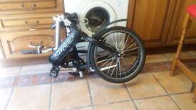 viking safari folding bike