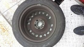 Vectra spare wheel new tyre 16 inch £15