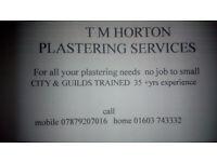 TM HORTON PLASTERING SERVICES