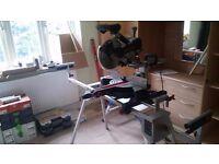 Bosch GCM 10 SD Slide Mitre Saw + GTA 2600 Stand