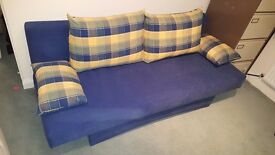 Modern double sofa bed - great condition