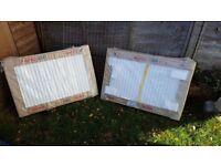 2x Delonghi Radel 4 radiators