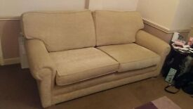 BESPOKE quality SOFA's - One three seater & one two seater - Made by a local craftsman
