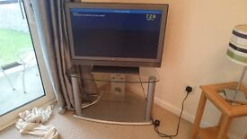 Sony Flat screen with freeview TV & stand.