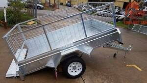 7x4 7x5 8x5ft Hot-Dip Galv Trailers Brand New from $1600