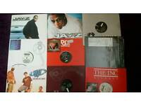 Vinyl record hiphop collection 150x12