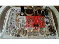Car Boot Sale Job Lot of 81 Jewellery items.