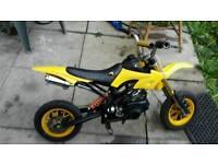 Mini moto pit dirt bike 50cc