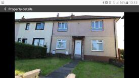 Bright spacious 2 bedroomed upper quarter villa to let . Skelmorlie . North Ayrshire