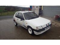 Peugeot 205 RALLYE Genuine 1992 RALLYE MODEL good driver ROUGH BUT READY