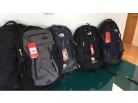 North Face back packs