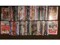 Job lot of DVDs box sets seasons sequels