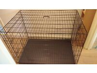 Large metal foldable cage for dogs or cats