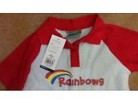 rainbows uniform medium new