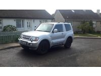 reduced swb mitsubishi shogun like nissan navara l200 hilux