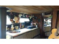 Beautiful eco-home narrowboat project cruiser liveaboard near Reading