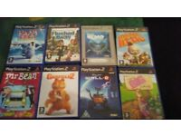 Bundle of ps2 games for kids