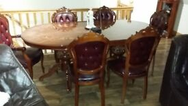 Italion Hand Made Full Set of Furniture