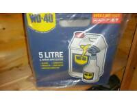 Wd40 wd-40 5 litres brand new unopened with applicator spray