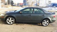 MAZDA 6 GS 4 DOOR 2005 manual great deal