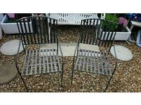 Metal Foldable Garden Chairs