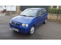 Suzuki Alto 2005 low mileage 12 months MOT Tax just £30 a year GREAT CONDITION VERY CHEAP CAR TO RUN