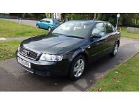 2003 53 Audi A4 1.9 TDI Auto Diesel, Black Saloon, 68,000 miles, 1 owner