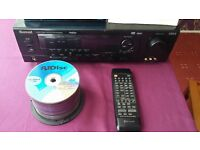 5.1 Surround Sound Amp with OVER 200 DVD MOVIES FREE WITH IT