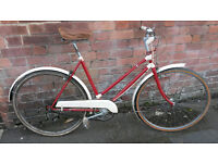 Vintage ladies town bike - CWS Cycleworth