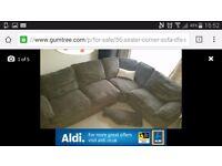 6 seater corner sofa needs go asap £300
