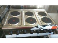 Electric 6 ring oven (3 phase electric supply needed ). Brand New. Still with some outer packaging.