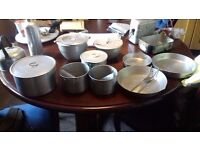 Cooking Pots and basins with lids - one lot or will split