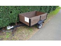 5' x 3' trailer with lights,sell or swap