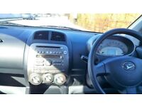 Daihatsu Sirion (Toyota Yaris platform), Subaru Justy. 55 MPG £30 Tax.2008.No Advisories.FSH.AuxMP3