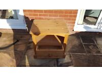 Solid pine unit width 58cm, depth 43.5cm and height 56cm - only £20.00