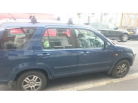 HONDA CRV, 2002, AUTOMATIC FOR SALE