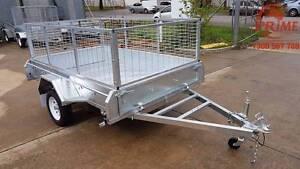 $1650 7x5ft On-Road Brand New Galvanized Tipper Trailer Pooraka Salisbury Area Preview