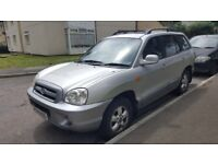 hyundai santa fe good runner and good condition genuine reason for sale