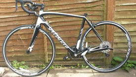 Specialized TARMAC SL4 carbon 56cm road bike. Top condition. Like new.