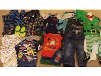** Boy clothes bundle 12-18 months (less than 50p per item!!)