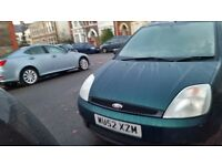 Ford fiesta 12months mot service history central lock heating cd player cheap on fuel and tax