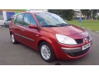 5 SEATER RENAULT GRAND SCENIC AUTOMATIC IN VERY CLEAN CONDITION. 1 YEAR MOT. FULL SERVICE HISTORY