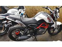 2015 - KSR MOTO GRS - 125cc Motorbike (Kernow Bike & Scooters)