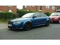 Audi a4 modified