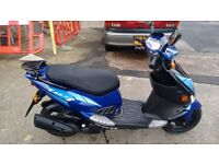 PGO TREX 125,MINT CONDITION,ONLY 6000 MILES,FULL SERVICE HISTORY