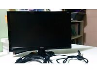 BENQ Monitor 22'' DL2215-B DVI/AVG + all cables (Excellent condition) OFFERS WELCOME!!