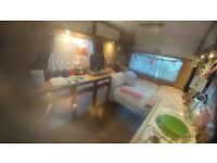 Static campervan/motorhome for rent £290 pcm... garden, shower, toilet facilities, bbq, firepit