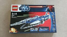 LEGO - The Malevolence (9515) - Star Wars - with all minifigures, instructions, assembled, with box.